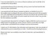 Finance assistant Cover Letter Samples Finance assistant Cover Letter Example Learnist org
