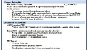 Finance Fresher Resume format Over 10000 Cv and Resume Samples with Free Download