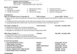 Finance Student Resume for Internship 24 Free Finance Resume Templates Pdf Doc Free