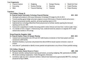 Finance Student Resume for Internship Sample Finance Resume Template 7 Free Documents