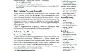 Financial Advisor Business Plan Template Free Financial Business Plan Template 13 Free Word Excel
