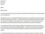 Financial Advisor Email Template Financial Advisor Cover Letter Example Icover org Uk