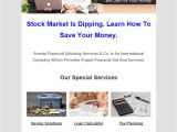 Financial Email Newsletter Templates 5 Best Financial Advisors Email Marketing Services Mailget