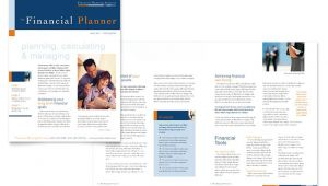 Financial Email Newsletter Templates Financial Planning Consulting Newsletter Template Design