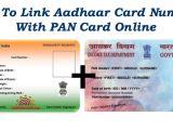 Find Aadhar Card Number by Name How to Link Aadhaar Card Number with Pan Card Online