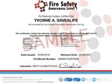 Fire Training Certificate Template Fire Safety Awareness Level 1 Course Details Protrainings Eu