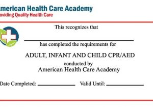 First Aid Certificate Template Free First Aid Certificate Template Blank Cpr Card Dtk Templates