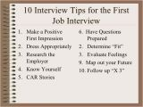 First Job Interview Resume Professional Resume Writers and Editors Interview Tips