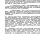 First Right Of Refusal Contract Template Right Of First Refusal and Co Sale Agreement