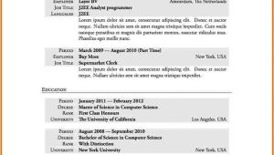 First Time Resume with No Experience Samples 10 First Time Resume with No Experience Samples Best