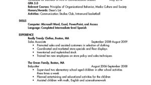 First Year University Student Resume Sample College Student Resume 7 Free Word Pdf Documents