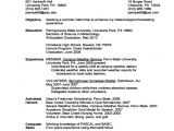 First Year University Student Resume Sample College Students Job Hunting Tips and Resources