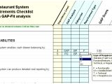 Fit Gap Analysis Template Xls 7 Fit Gap Analysis Template Excel Iakiu Templatesz234