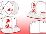 Fitted Hat Template Design Your Own 59fifty Contest New Era Cap Talk