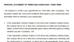Fixed Term Contract Of Employment Template 23 Hr Contract Templates Hr Templates Free Premium