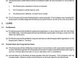 Fixed Term Contract Of Employment Template Fixed Term Employment Contract Template