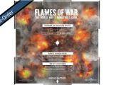 Flames Of War Artillery Template Battlefront Flames Of War Mid War Artillery Template 4th Ed