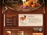 Flash Menu Templates Cafe and Restaurant Flash Template 20763