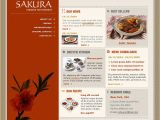 Flash Menu Templates Chinese Restaurant Flash Template 5245