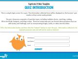 Flash Quiz Template the Learning Smith Captivate 8 Quiz Template