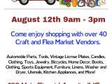Flea Market Flyer Template Junk In the Truck and Flea Market Flyer Template