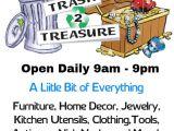 Flea Market Flyer Template Trash to Treasure Flea Market Template Postermywall