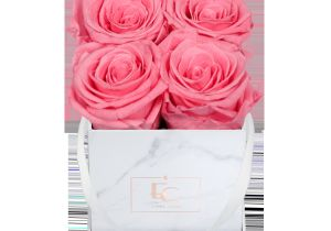 Flower Card for New Baby Classic Infinity Rosebox Baby Pink Xs