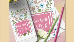 Flower Card Get Well soon Free Get Well soon Card Daily Freebie Day 24 In 2020 with