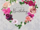 Flower Card Messages for Girlfriend Ld1151 Floral Heart Birthday Silver Lace Jpg with Images