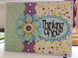 Flower Card Thinking Of You Thinking Of You Scrapbook Com Flower Cards Card Making