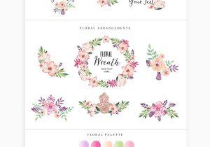 Flower Decoration Visiting Card Design Pre Made Brand Logo Templates Floral Logo Logo Templates