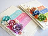 Flower Embellishments for Card Making Creating In Faith with Robbie Herring On Live with Prima