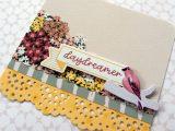 Flower Embellishments for Card Making Patterned Crimson Flower Craft Embellishment Stickers