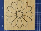 Flower Rubber Stamps Card Making Spring Flower Mounted Rubber Stamp Artful Stamper with