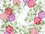 Flower Rubber Stamps Card Making Thorny Rose Stamp Maker Cards Handmade Stamp