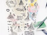 Flower Rubber Stamps Card Making Us 2 39 30 Off Beautiful Wedding Dress Letters Flower Heart Clear Rubber Stamps for Scrapbooking Card Making Valentine S Day Stamps Stamps