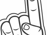 Foam Finger Template Foam Hand Template Scripture Union