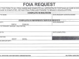 Foia Request Template Sample Completed Na form 13028 Foia Request