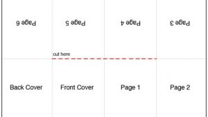 Foldable Booklet Template 9 Best Images Of Book Folding Template Printable Free