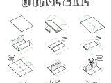 Foldable Booklet Template Zines Umami Design Studio