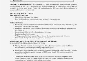 Food Basic Resume is Prep Cook Resume Still Realty Executives Mi Invoice