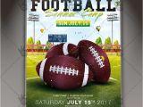 Football Camp Flyer Template Free Football Summer Camp Premium Flyer Psd Template Psdmarket