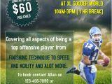 Football Camp Flyer Template Free Football Training Camp Flyer Template Postermywall