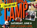 Football Camp Flyer Template Free Kids Football Camp Flyer Template Postermywall