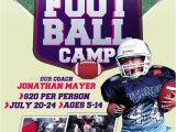 Football Camp Flyer Template Free Youth Football Camp Flyer Template Pictures to Pin On
