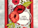 For Each Handmade Greeting Card Jacqui Peaceful Poppies Card In 2020 with Images Poppy Cards