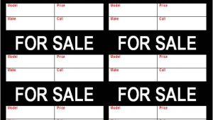 For Sale Tags Templates for Sale Tag Flyer Freewordtemplates Net