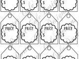 For Sale Tags Templates Price Tags Printable Digital File