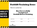 Forklift Certification Wallet Card Template Free forklift Certification Card forklift Training Zone