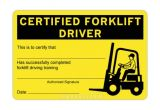 Forklift Certification Wallet Card Template Free Funky Free forklift Certification Mold Online Birth